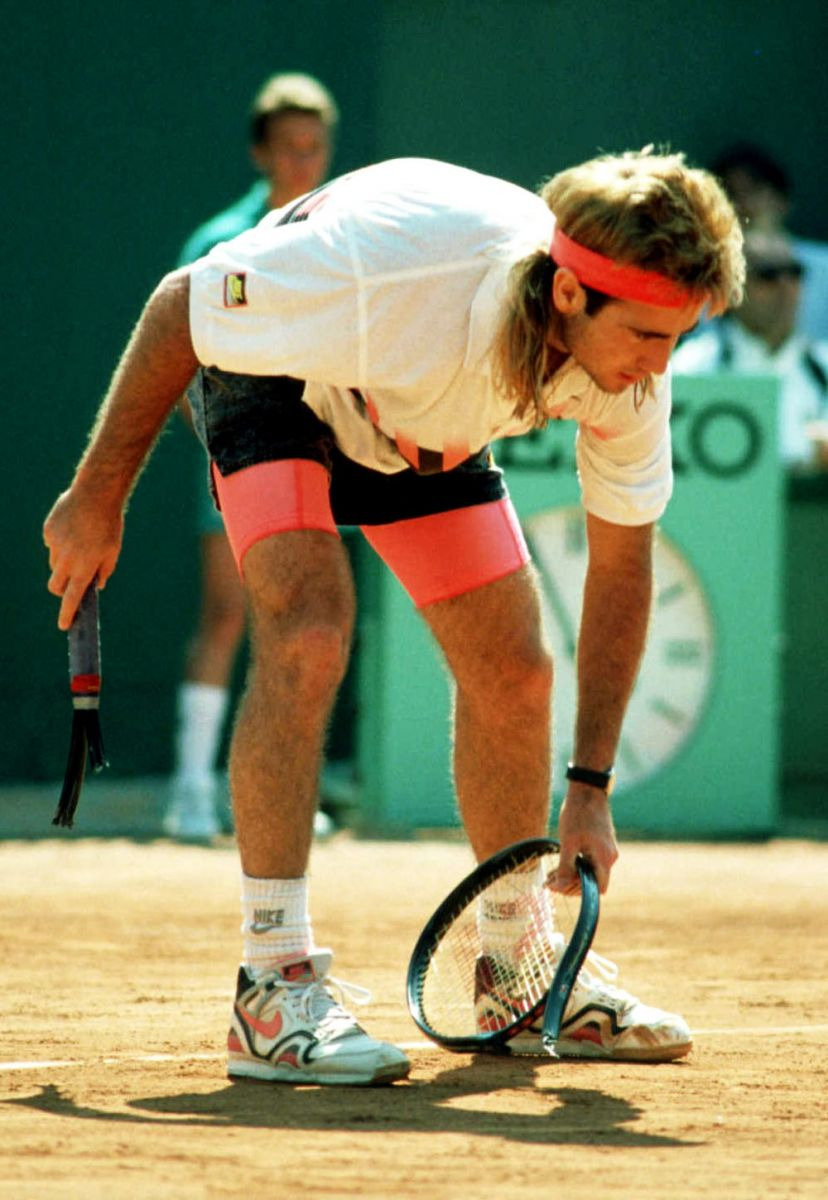 54ad2e560b72 The Mystique of Andre Agassi and the Tech Challenge Line