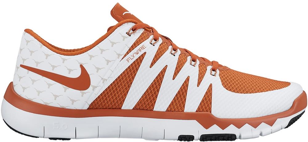 Nike Free Trainer 5.0 V6 Amp White/Light Ash Grey-Desert Orange