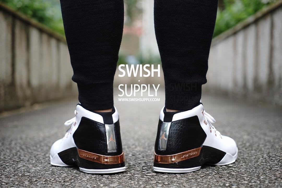 6e820af99b41b2 Air Jordan 17 Copper On-Foot 832816-122 (3)