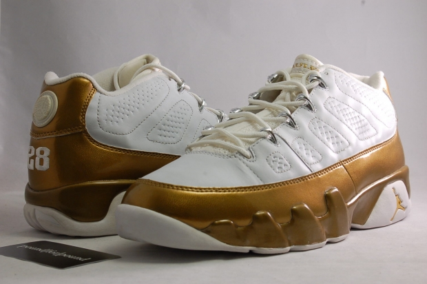 Air Jordan IX 9 Low Marshall Faulk PE