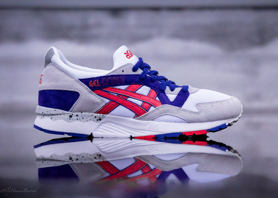 asics gel lyte 5 white purple