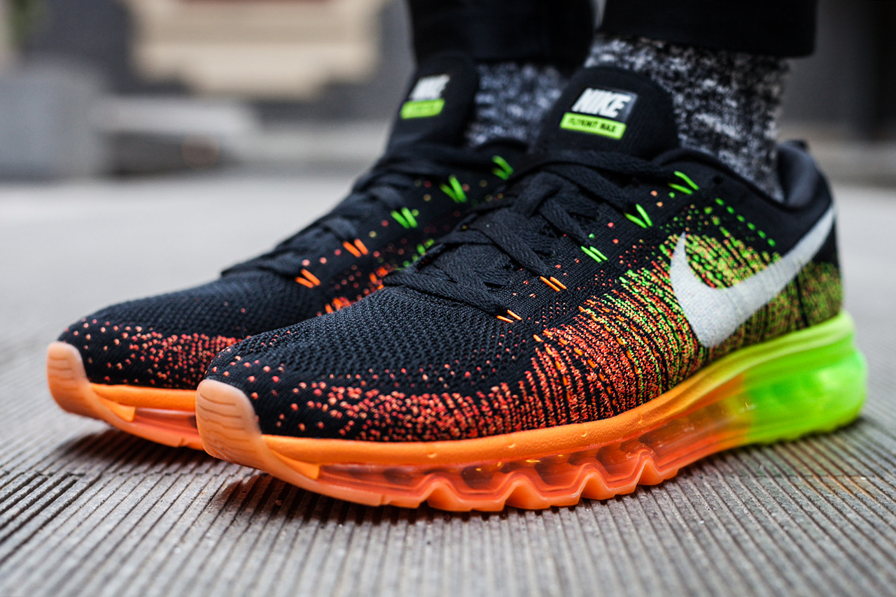 Women's Nike Air Max 2013 Orange Black
