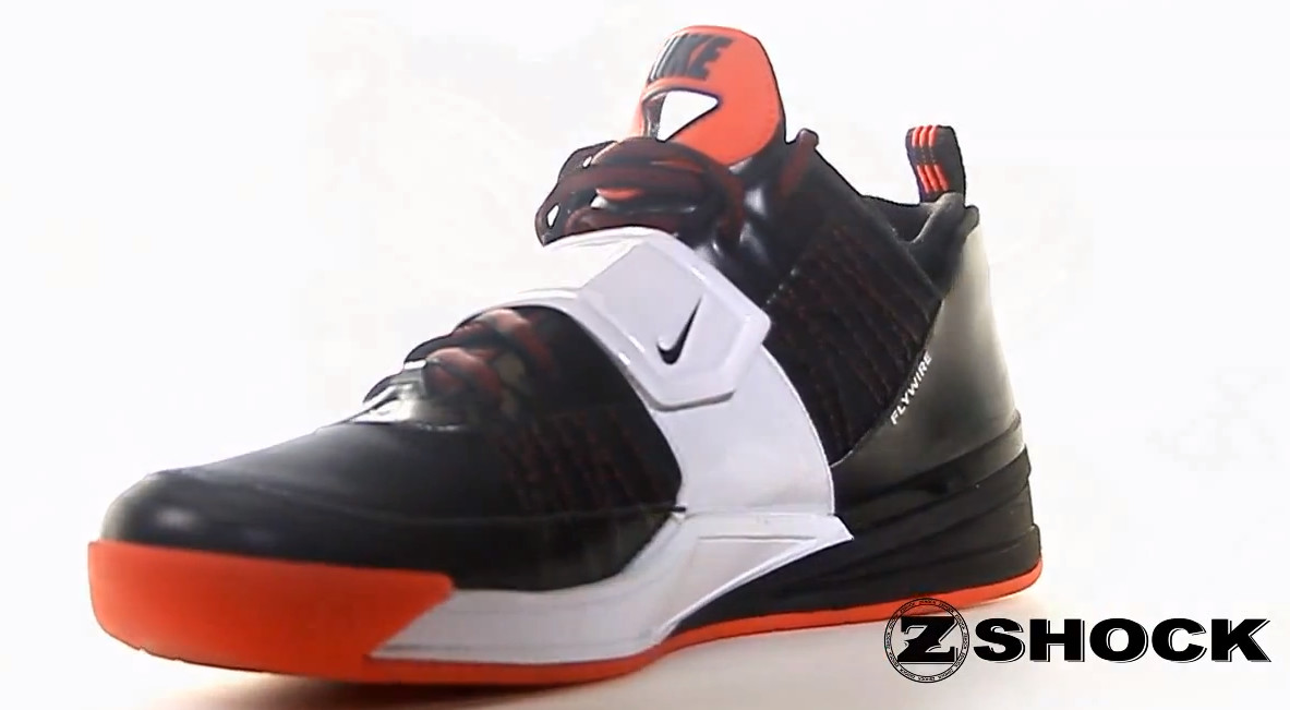 Nike Zoom Revis 1 Black White Red (3)