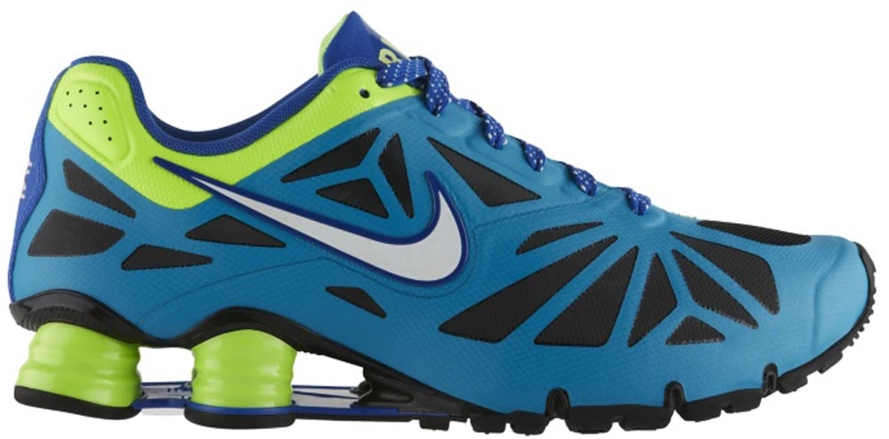 Nike Shox Turbo XIV City Neon Turquoise/Black-Flash Lime-Liquid Lime