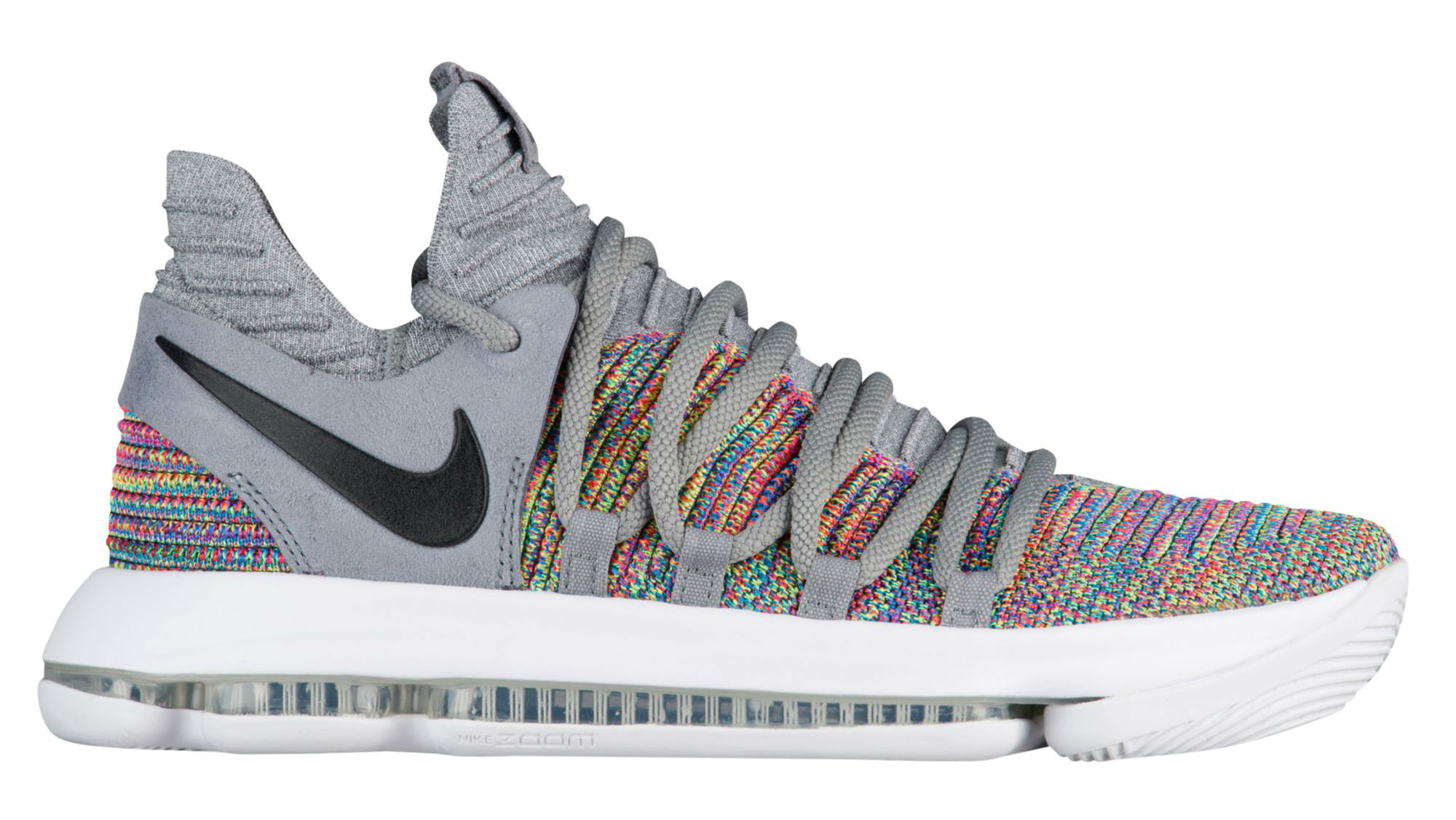 Nike KD 10 Releasing with Multicolor Flyknit