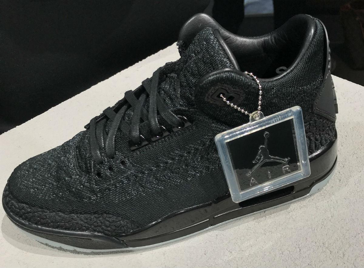 Air Jordan 3 III Flyknit Black Release Date AQ1005-001   Sole ...