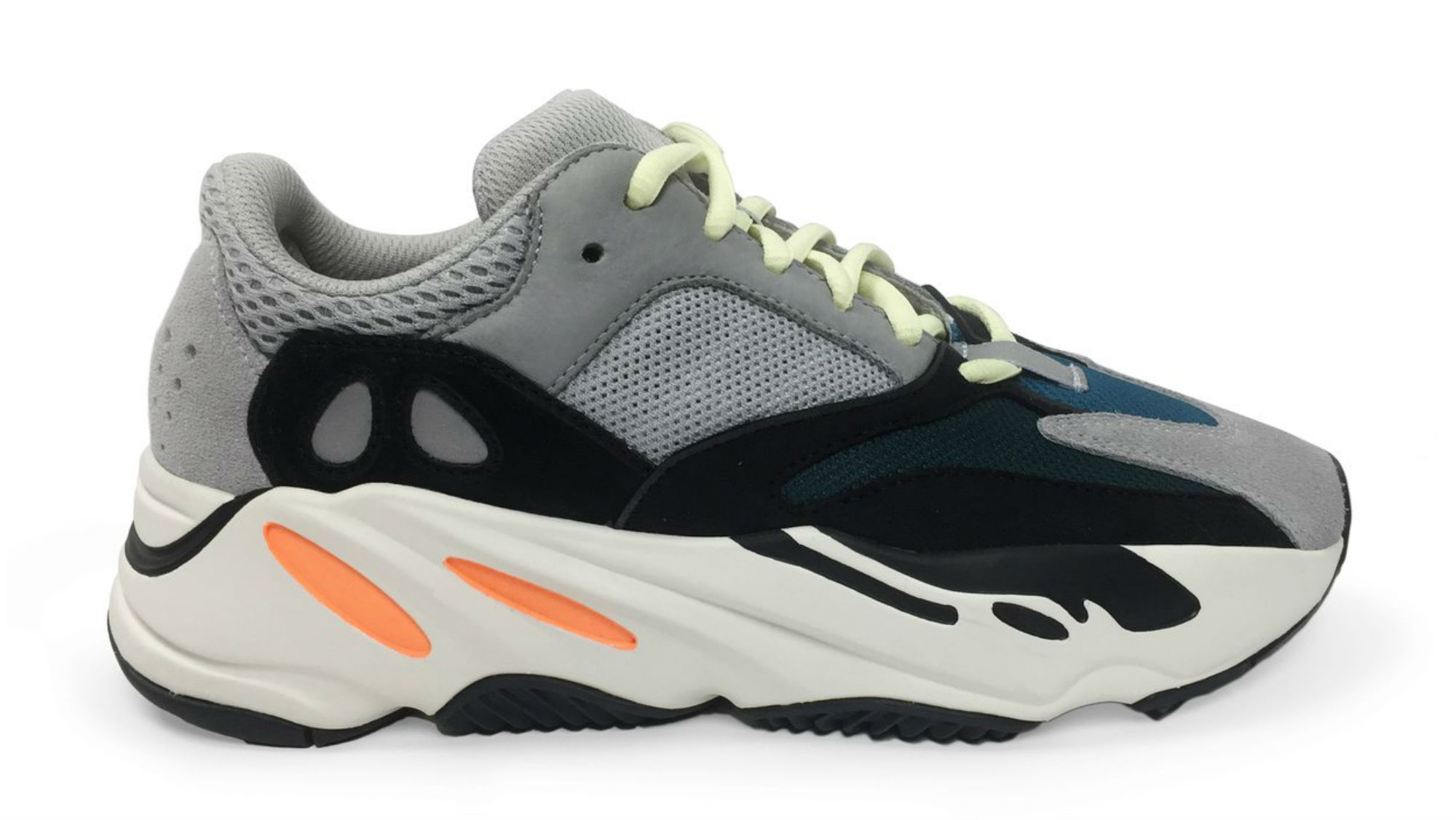 84caa0043 Adidas Yeezy Boost 700 Wave Runner Solid Grey Chalk White Core Black B75571  Release Date