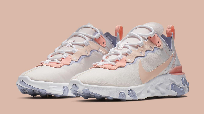 Women's Bq2728 Element Nike 601 Date 'pale Release React Pink' 55 zSVpMU
