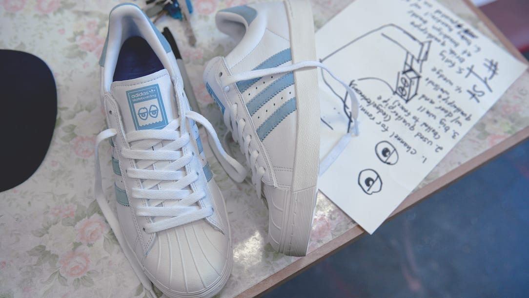 Superstar Vulc X Chaussures Krooked oe59hWlA9b