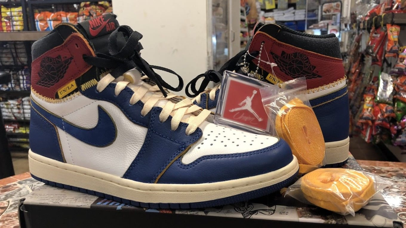 Air For1 Collector X La Jordan Ebay Union 500Sole 1 Surfaced On IY76vfgby