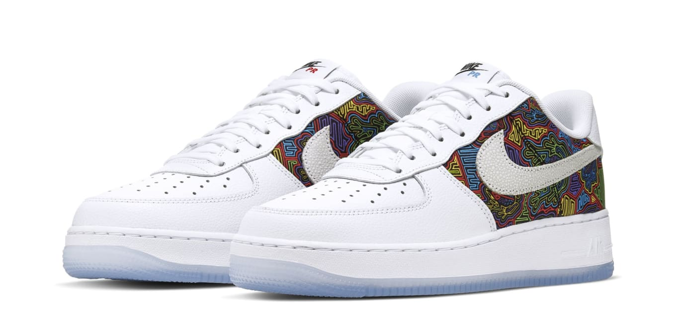 lowest price 6b898 32b0e Nike Has Officially Canceled the  Puerto Rico  Air Force 1   Sole Collector
