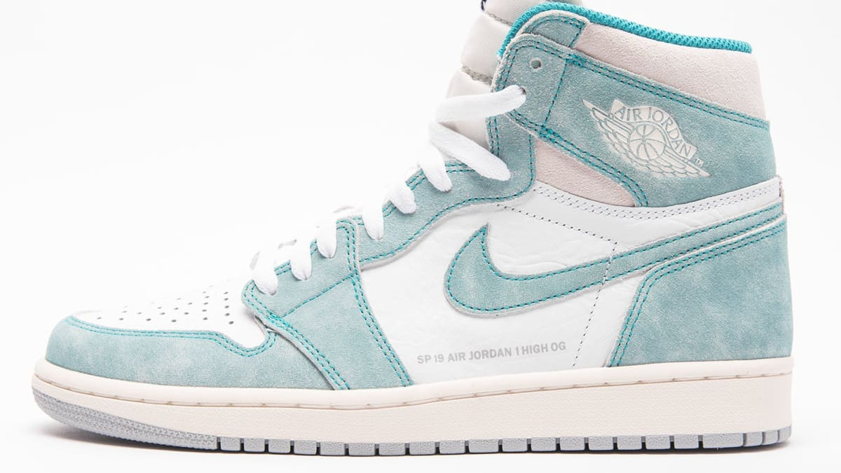 sale retailer e041f 19f4f Air Jordan 1 Turbo Green White Light Smoke Grey Sail Release Date  555088-311 Jan. 2019   Sole Collector