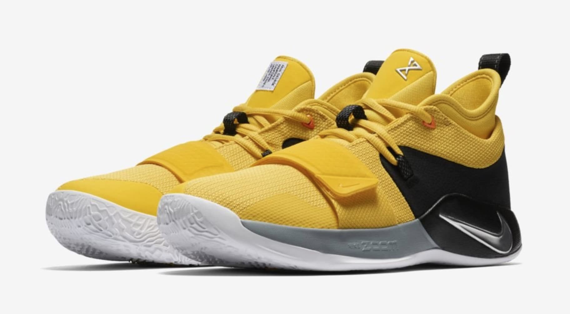 c103e5a2317 sale nike paul george shoe heel ac05e f8959  get black and yellow black and  yellow. d26fd c54a7