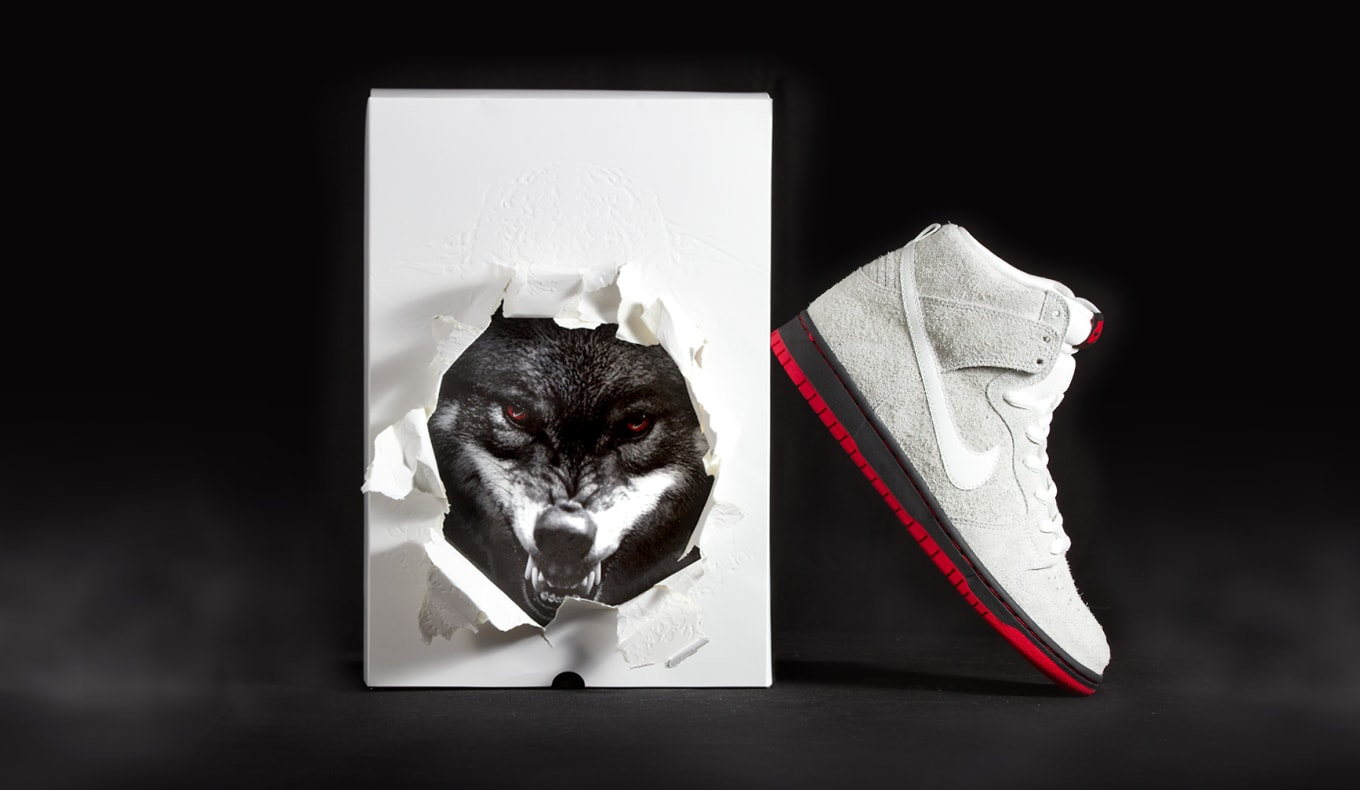 b9596134adfd Nike Dresses Wolf Sneakers in Sheep s Clothing. A new collaboration from Black  Sheep.
