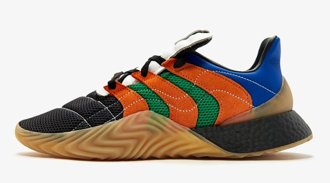 on sale 7b5d3 4068d This Adidas Sobakov Boost Is Inspired By the 1982 World Cup