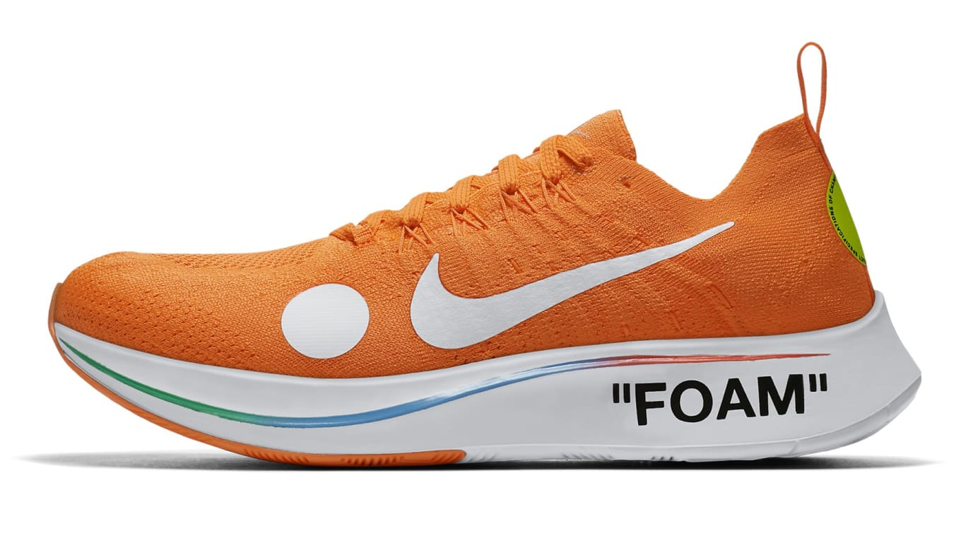 2646fe82ad9a Off-White x Nike Zoom Fly Mercurial  Total Orange