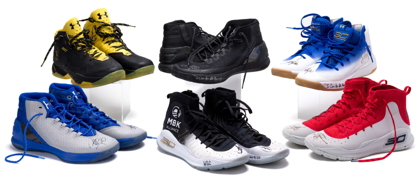 29615290 Stephen Curry Is Raffling His Game-Worn Sneakers With StockX | Sole ...