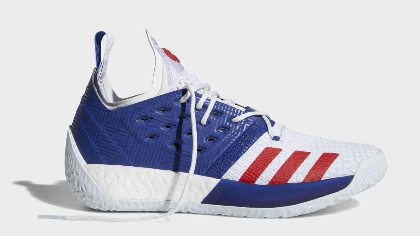Adidas Harden Vol. 2 Red White Blue Release Date Jul. 15