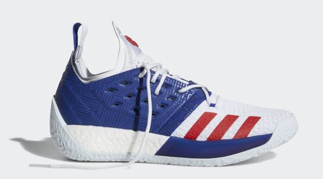 b03da3d8f8c3 The Adidas Harden Vol. 2 Is Releasing in Patriotic Colors