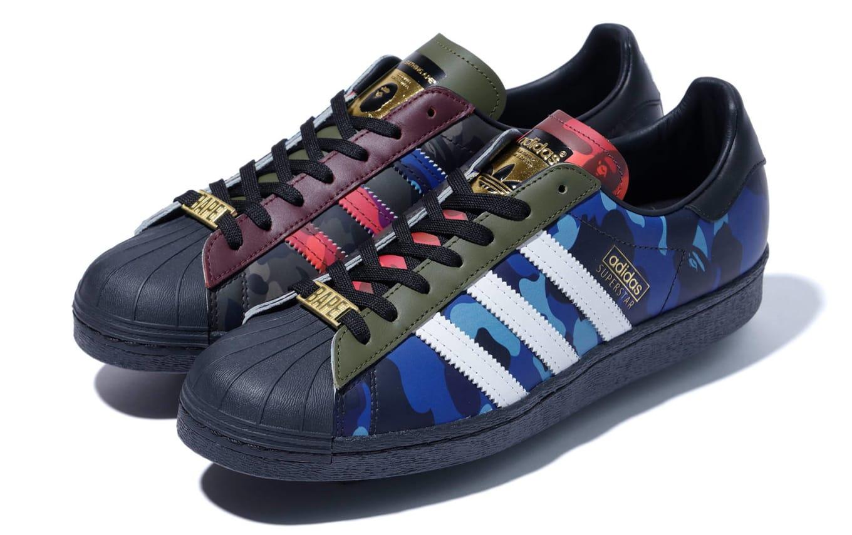 Bape x Adidas Superstar 80s Release Date Spring/Summer '21 ...