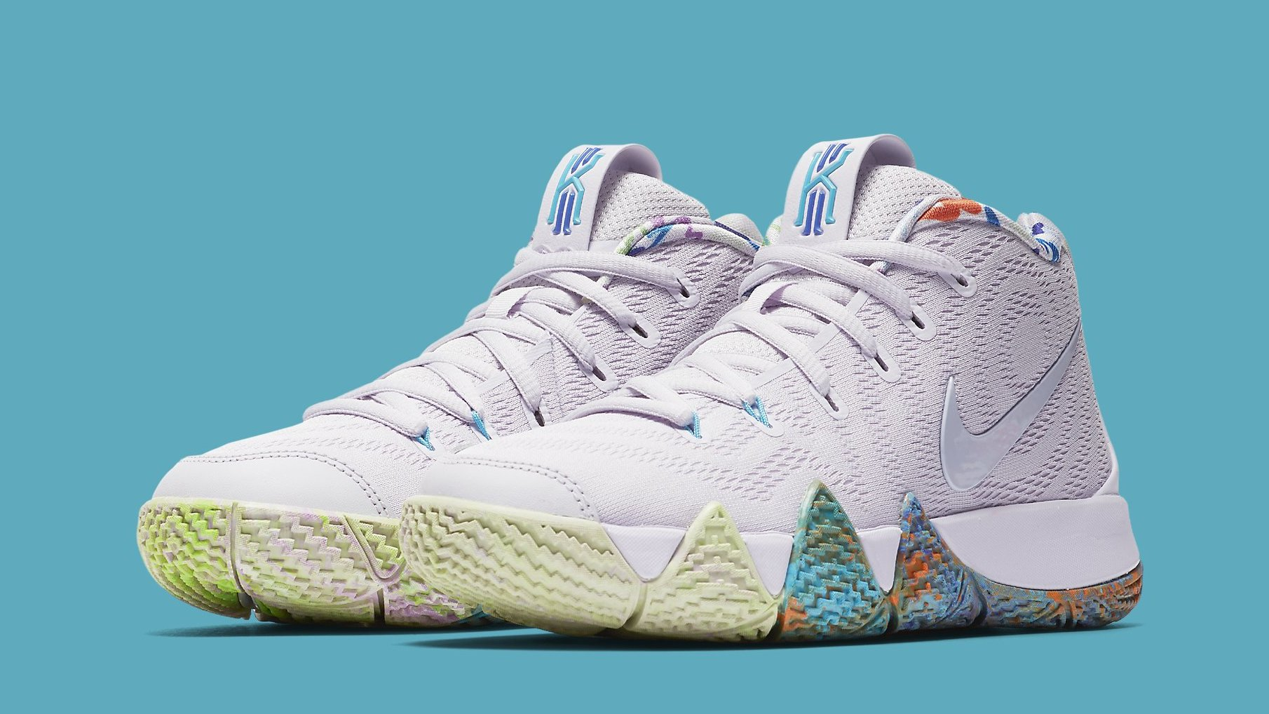 brand new 84642 836fb Nike Kyrie 4  90s  Release Date Aug. 25, 2018 943806-902   Sole Collector