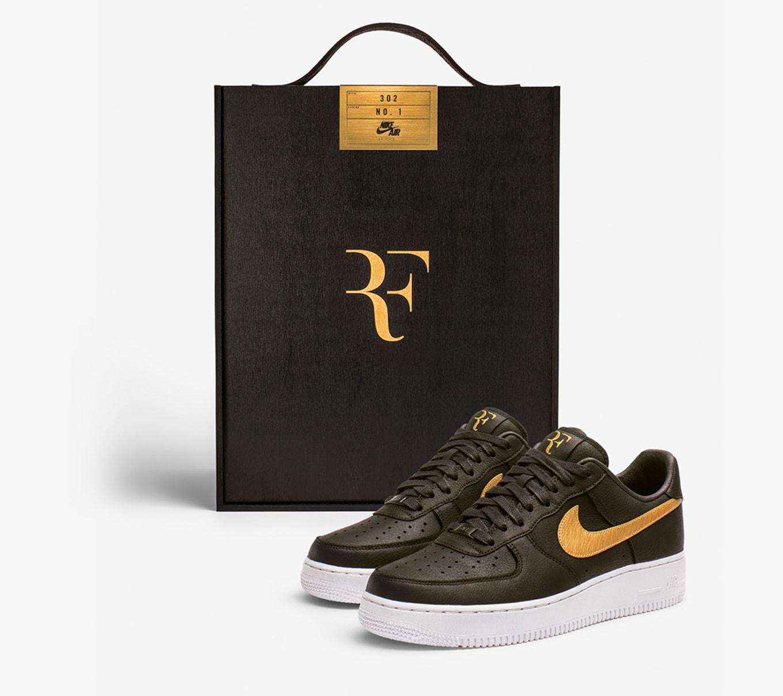 Roger Federer Nike Air Force 1 Low Federer Forever | Sole