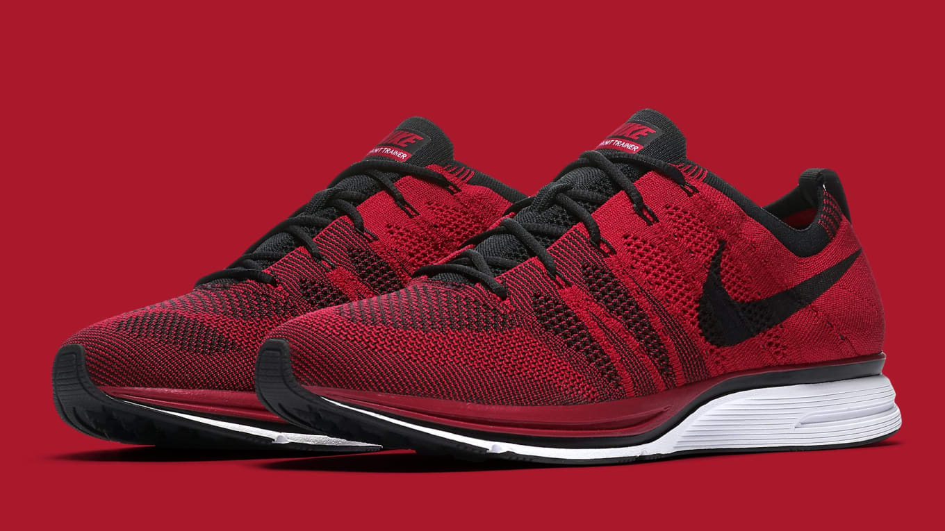 94a2e1fd1998 Nike Flyknit Trainer University Red Release Date Summer 2018 AH8396 ...