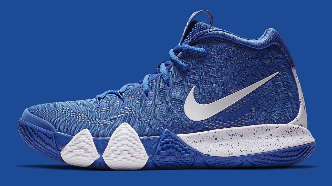 new product d4b32 c4350 Nike Kyrie 4 Team Bank Release Date | Sole Collector