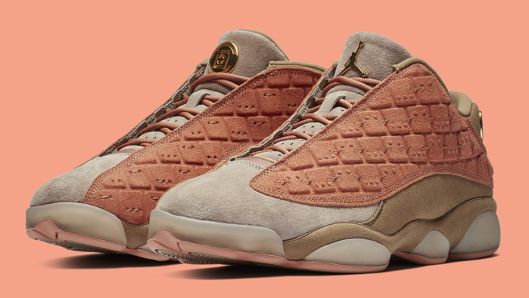 4b69e21011f7 New Release Info for the Clot x Air Jordan 13 Low.