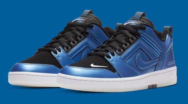 9b496d68e581e This Nike SB Air Force 2 Is Inspired By Penny Hardaway s Foamposites