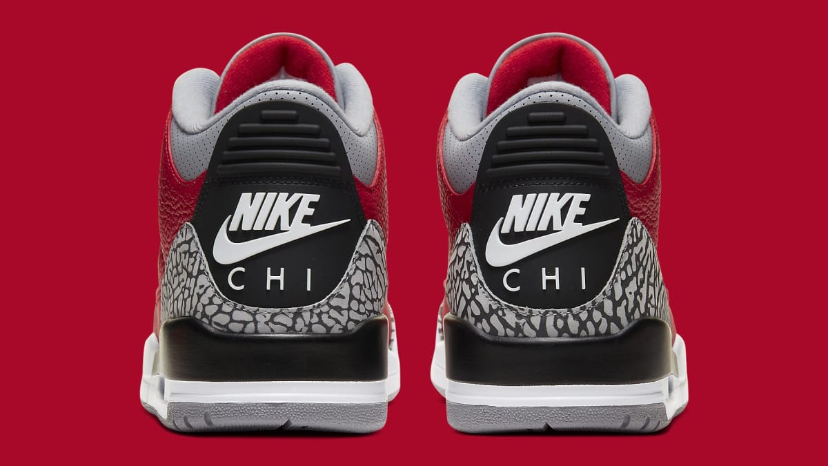 Chicago-Themed 'Red Cement' Air Jordan 3s Are Dropping Again