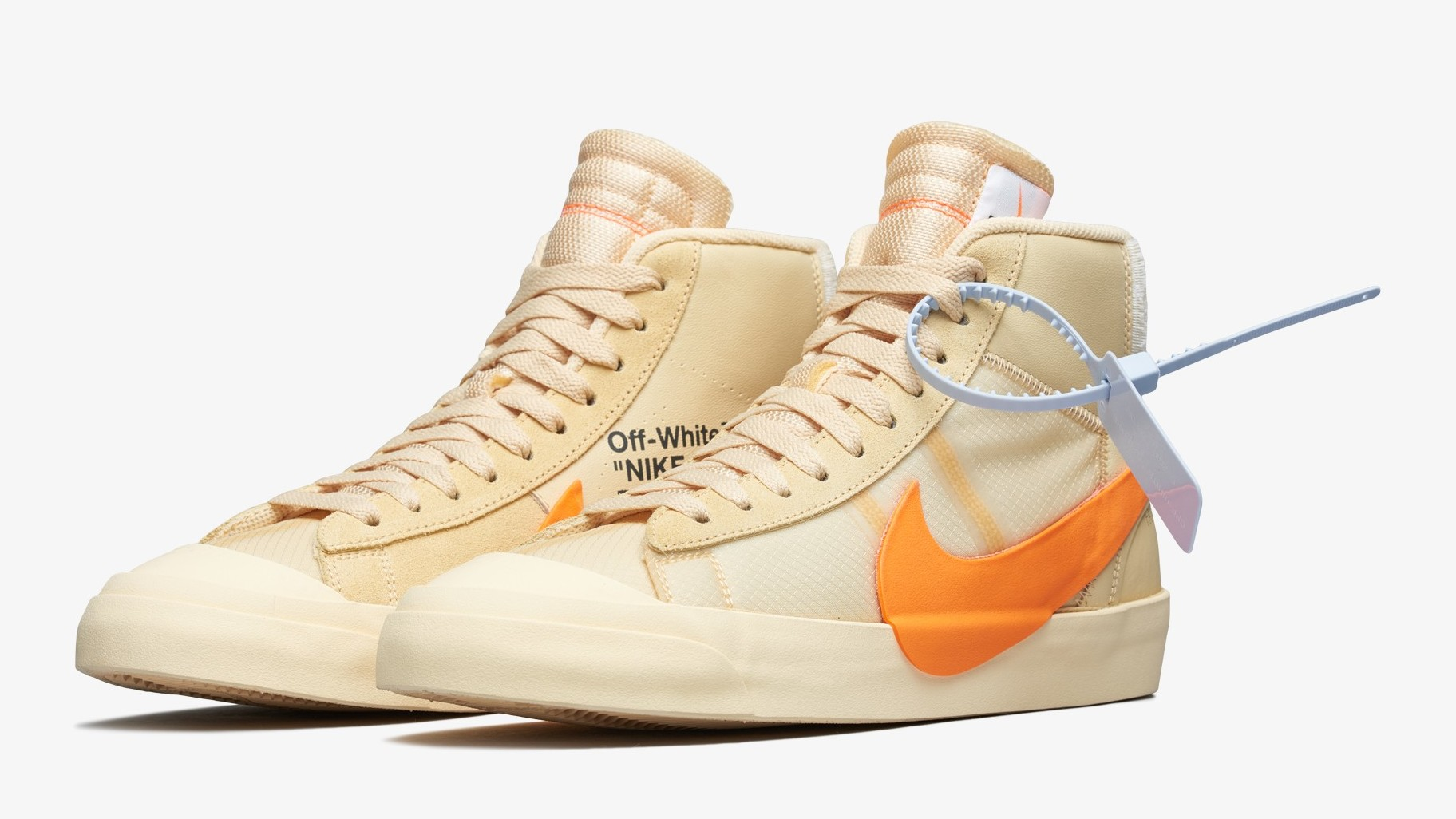 pretty nice f1729 64b90 Virgil Abloh s New Off-White x Blazers Drop Tomorrow. Halloween-themed ...