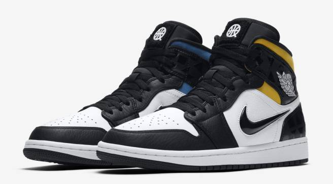 5b14ea334a9 The Air Jordan 1 Mid Is Joining This Year's Quai 54 Lineup