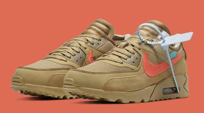buy online bdc68 62d04  Desert Ore  Off-White x Air Max 90s Releasing Later Than Expected
