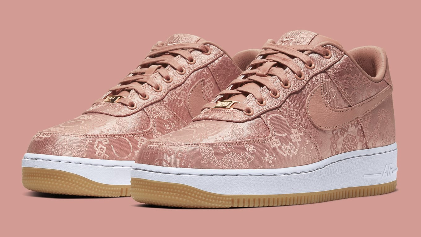 Clot x Nike Air Force 1 Low 'Rose Gold' Release Date CJ5290 ...