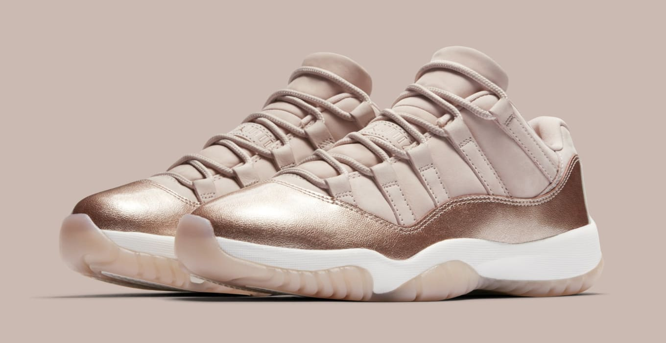 Rose Gold  Air Jordan 11 Low Release Is Fast Approaching b01f241fd