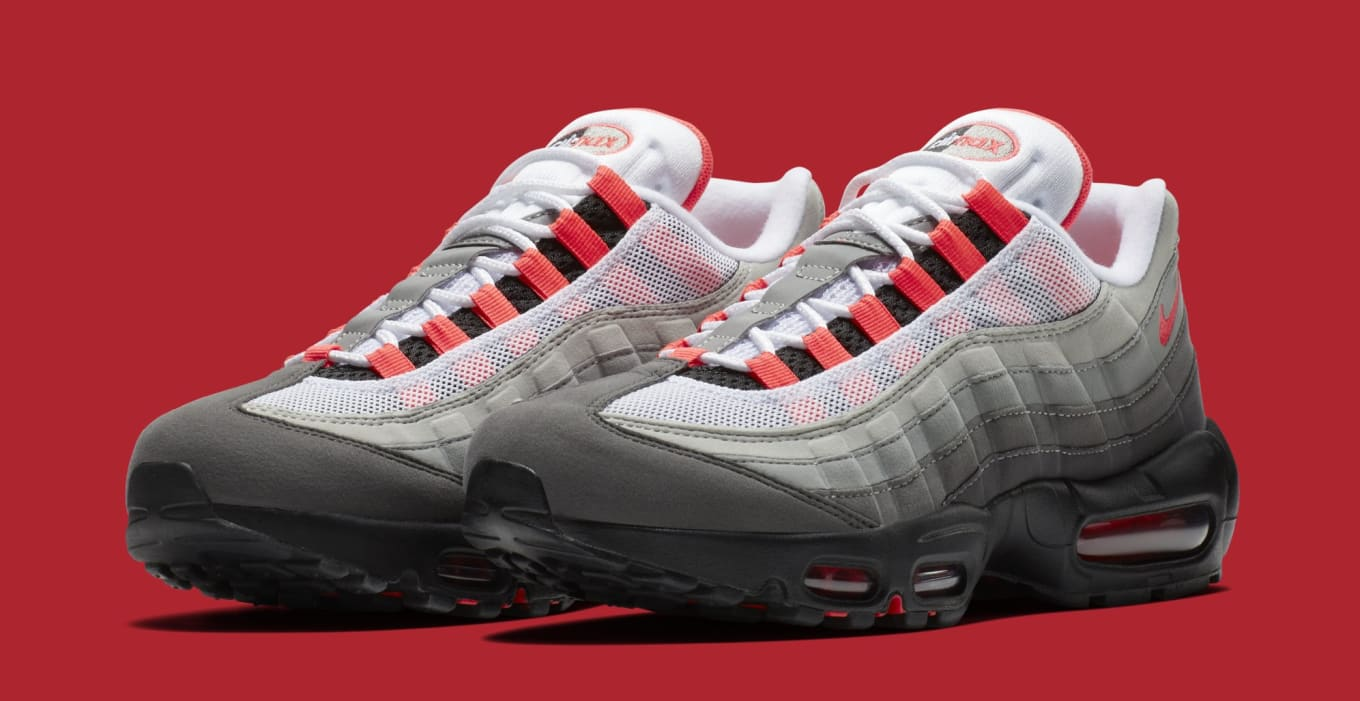 6278e22648a6 Nike Air Max 95  Solar Red  AT2865-100 Release Date