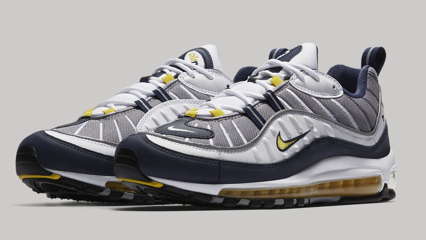 best loved bab84 4940a Nike Air Max 98 'Tour Yellow' Releasing on Jan. 26 | Sole ...