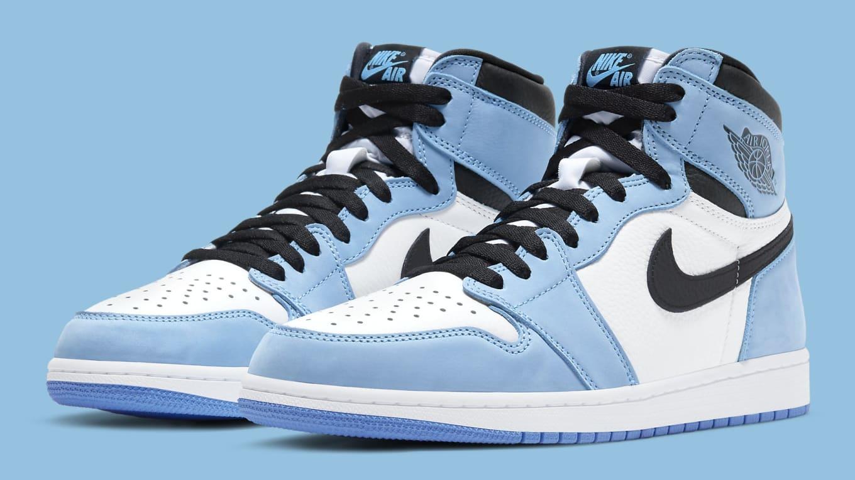Air Jordan 1 High 'University Blue' Release Date 555088-134 | Sole ...