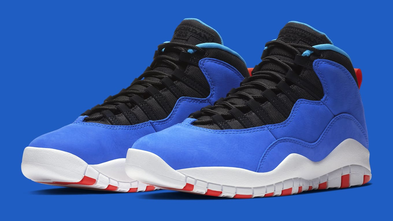 b556fb2a5d6a Air Huarache Light Cues Hit the Air Jordan 10. Borrowing from another Tinker  Hatfield classic.