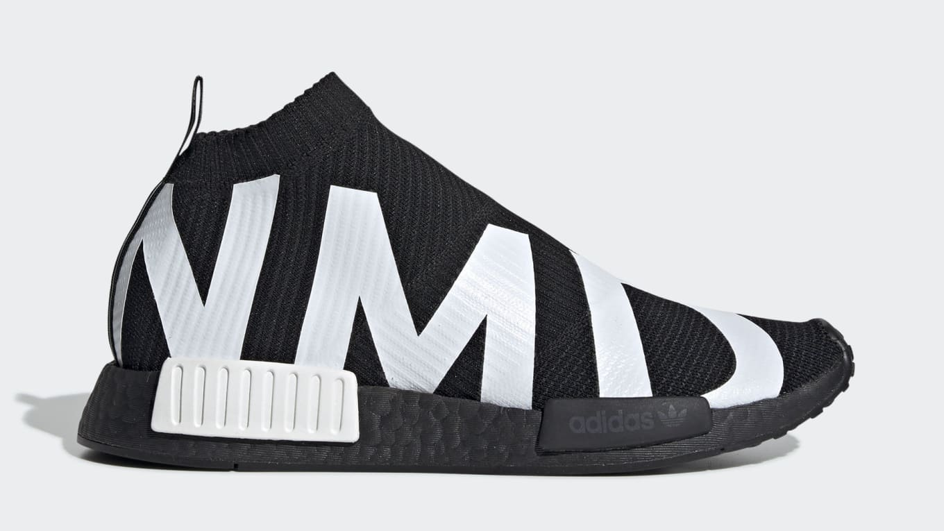 e0feb2acb Adidas NMD CS1 Primeknit  Core Black   Cloud White  Release Date 04 ...