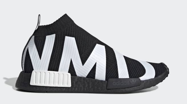 brand new c98aa 6896b Adidas Adds Bold Branding to the NMD CS1 Primeknit. By Victor Deng
