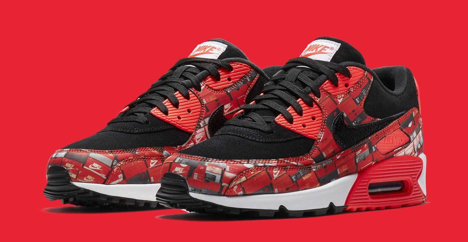 Atmos x Nike Air Max 90 'InfraredWe Love Nike' AQ0926 001