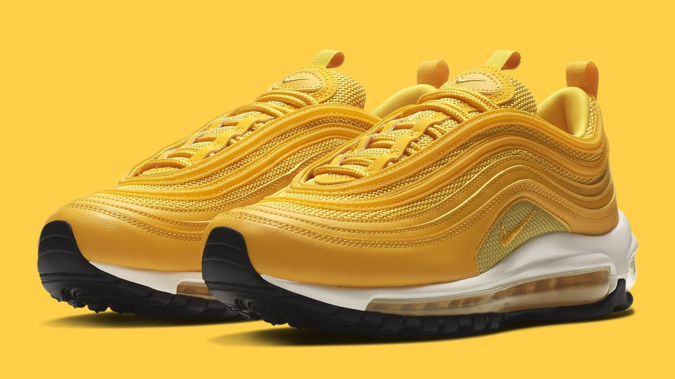Nike Air Max 97 'Mustard' Release Date 921733 701 Suola  Sole