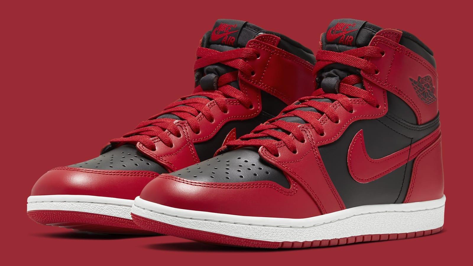 nike shoes cheapest, Air jordan 1 high white varsity red