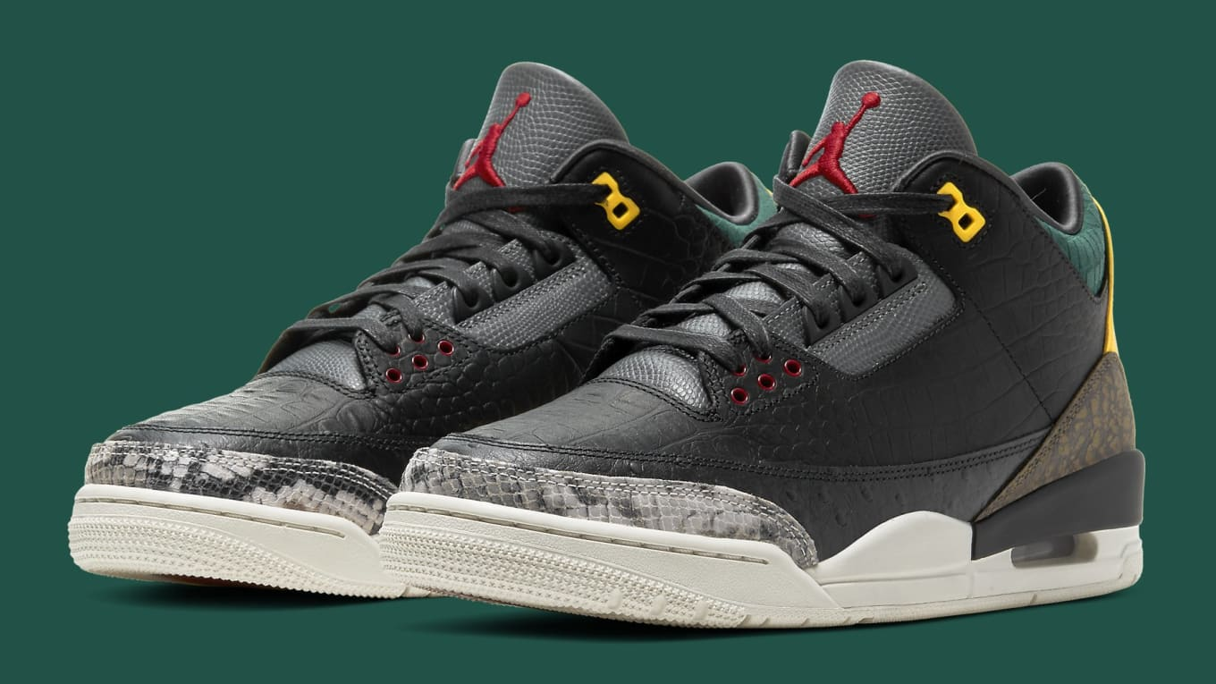 Jordans 3 Air Jordan 3 'Animal Pack' Release Date Spring 2020 CK4344-001 ...