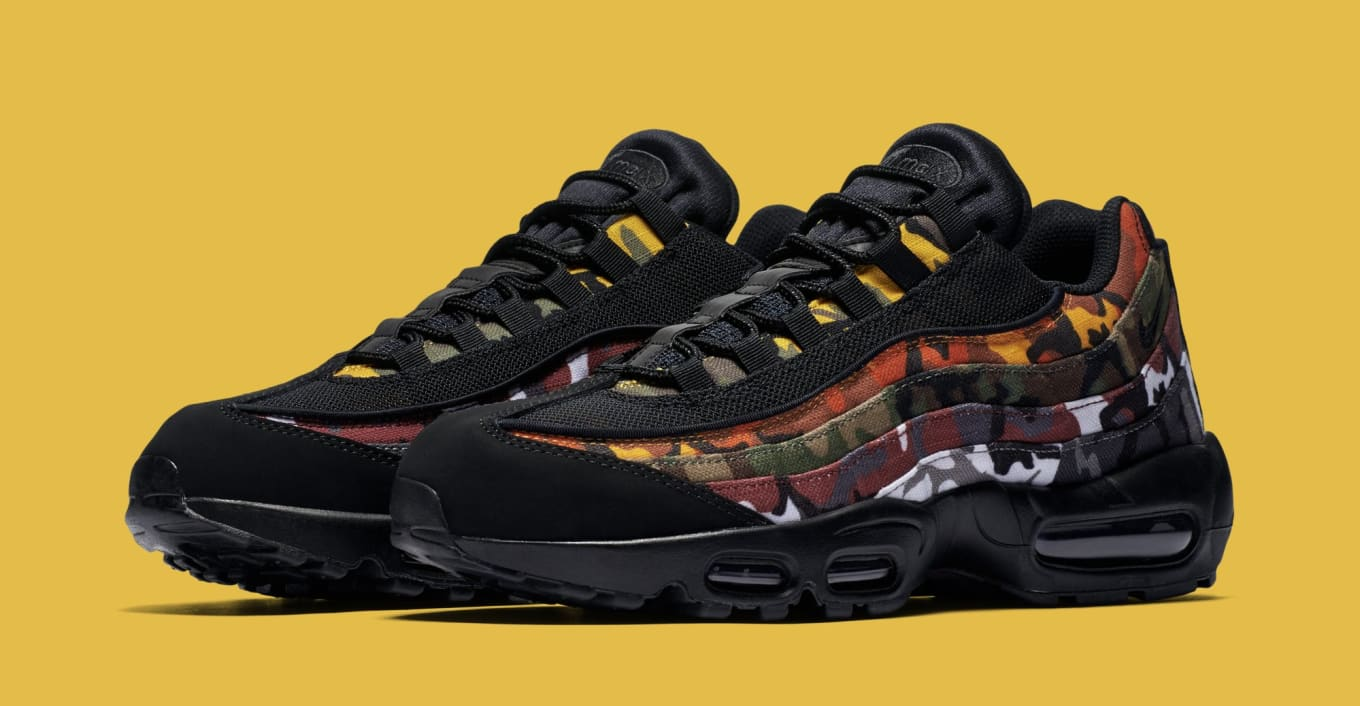 Another Look at Nike s Camo-Covered Air Max 95s. Releasing soon. 8a29f1676
