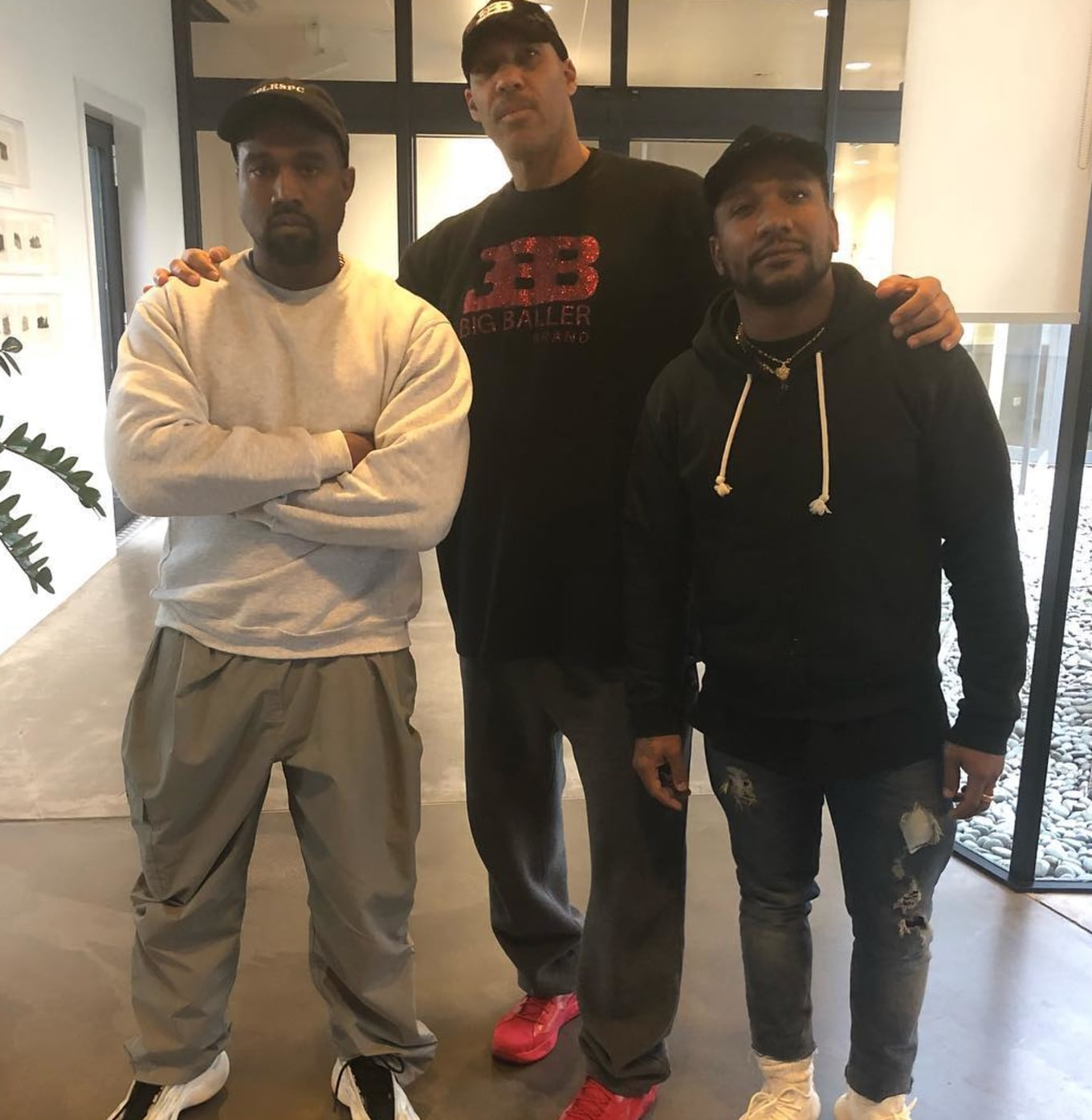 70c08f13b4a91 Is Kanye West Collaborating With Big Baller Brand
