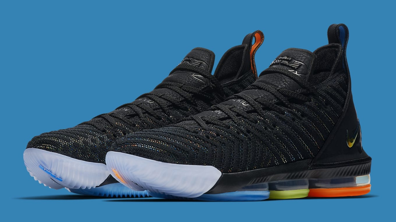 best website 342a2 48c8b Nike Is Raffling Off Pairs of the  I Promise  LeBron 16