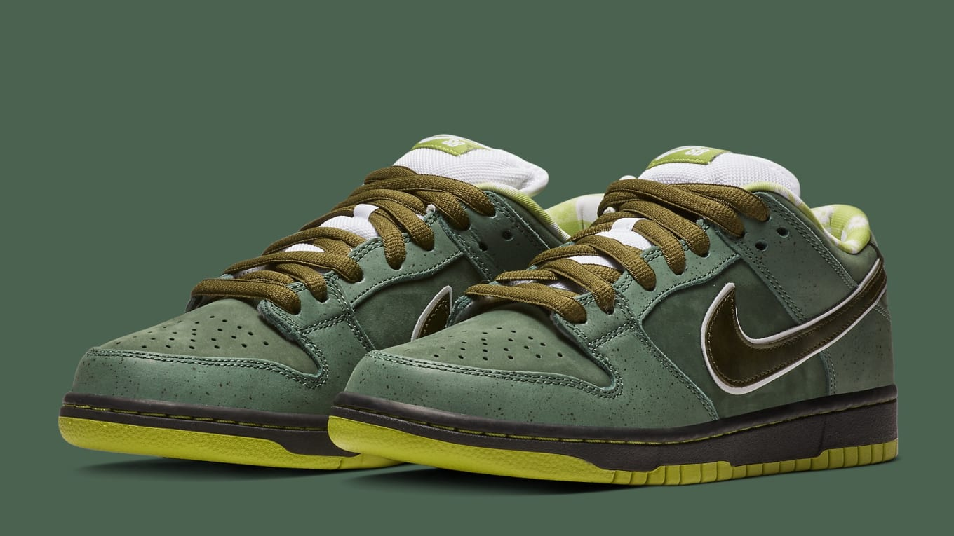 cheap for discount fa4f5 36345 CNCPTS x Nike SB Dunk Low  Green Lobster  Release Date   Sole Collector